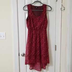 Used Mossimo High Low Pink Summer Dress S